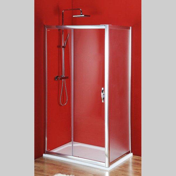 GELCO - Sigma čvercový sprchový kout 1000x1000mm L/P varianta, dveře čiré, bok Brick (SG1240SG3680)