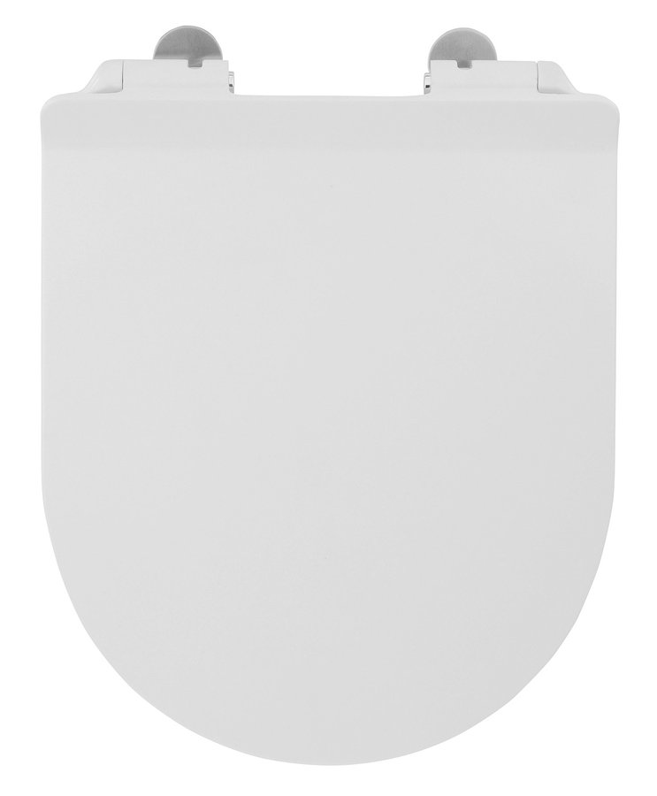 ISVEA - SENTIMENTI WC sedátko Slim, Soft Close (pro WC se Smartfixplus), duroplast, bílá (40D40200I-S)