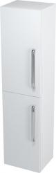SAPHO - Skříňka vysoká s košem 35x140x30cm, bílá, levá (62030L)