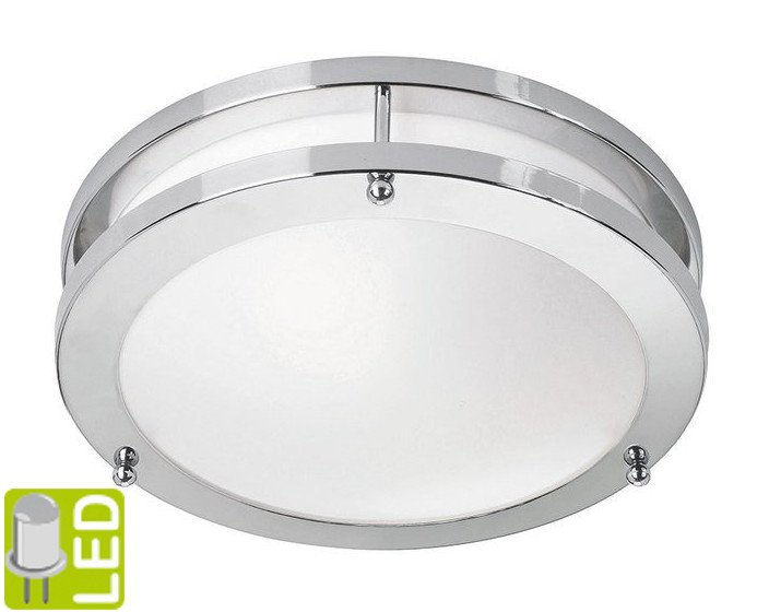 Sapho Led TABY stropní LED svítidlo 9W, 230V, chrom AU594