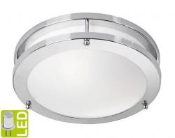 SAPHO - TABY stropní LED svítidlo 9W, 230V, chrom (AU594)