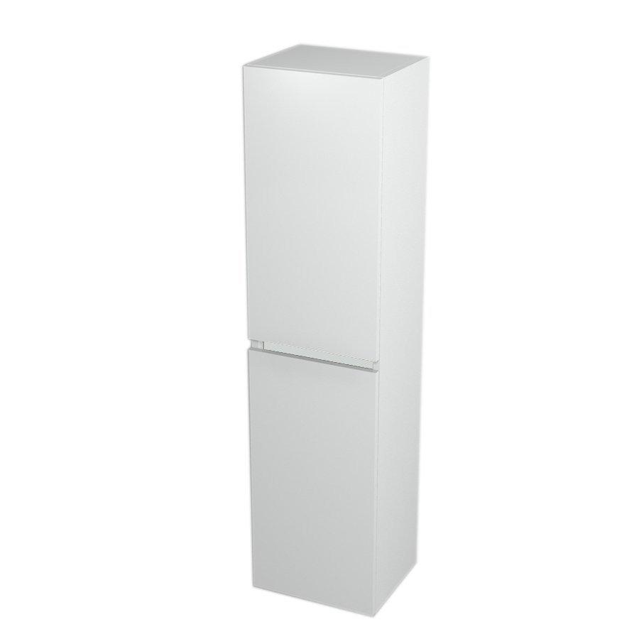 SAPHO - Skříňka vysoká s košem 35x140x30cm, levá/pravá, bílá (LA351LP)