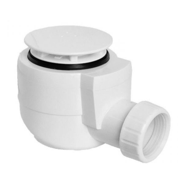Vaničkový sifon, průměr otvoru 50 mm, DN40, krytka bílá (EWP0540)