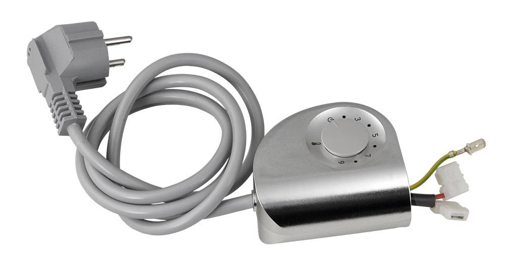 RIDEA - Termostat k Othello Mono, šedá metalíza (308.03)