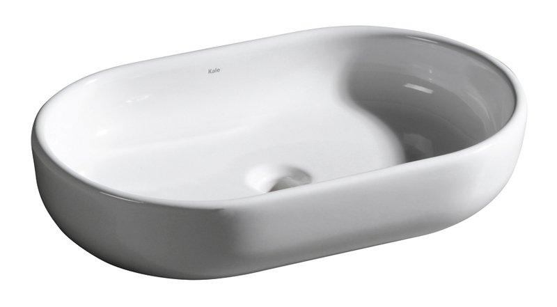 KALE - ZERO keramické umyvadlo 60x40x13,5cm, na desku (71118158)