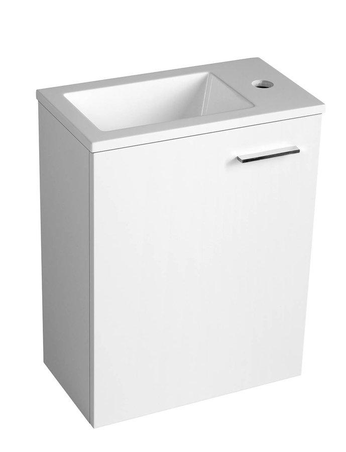 AQUALINE - ZOJA umyvadlová skříňka 39,5x50x22cm, bílá (51049)
