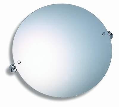 NOVASERVIS - Zrcadlo s výklopným držákem kulaté 50 cm  Metalia 1 chrom (6113,0)