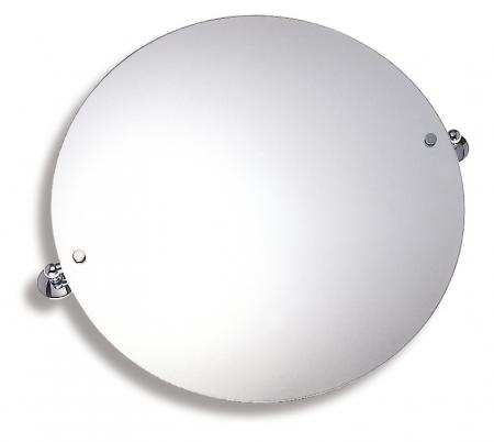 NOVASERVIS - Zrcadlo s výklopným držákem kulaté 60 cm  Metalia 1 chrom (6115,0)