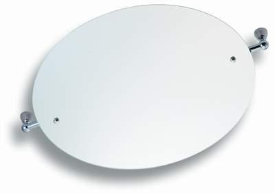 NOVASERVIS - Zrcadlo s výklopným držákem kulaté 50 cm  Metalia 3 chrom (6313,0)