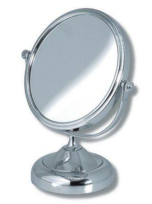 NOVASERVIS - Kosmetické zvětšovací zrcátko na postavení chrom (6968/1,0)
