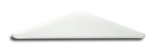 NOVASERVIS - Sklo rohové poličky pískované (6435,XS)