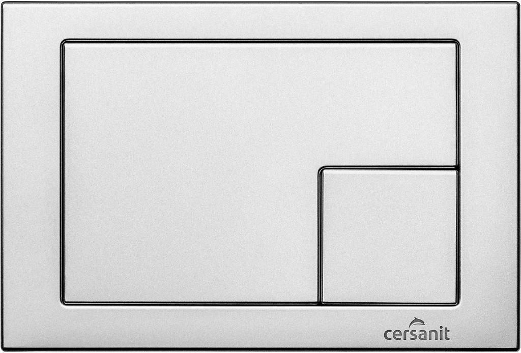 CERSANIT - TLAČÍTKO K SYSTÉMU LINK MATNÝ CHROM, ČTVEREC (K97-174)