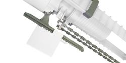 CERSANIT - Vypouštěcí ventil s funkcí 3/6 litrů včetně ovládacího tlačítka (vysoký) (K99-0015X), fotografie 8/4