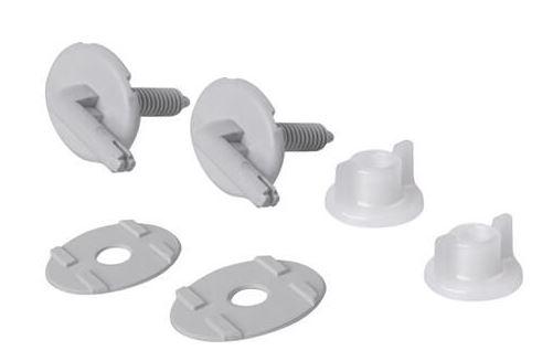 CERSANIT - Servisní sada umělohmotných šroubů pro polypropylenové sedátko PRESIDENT (K99-0007)