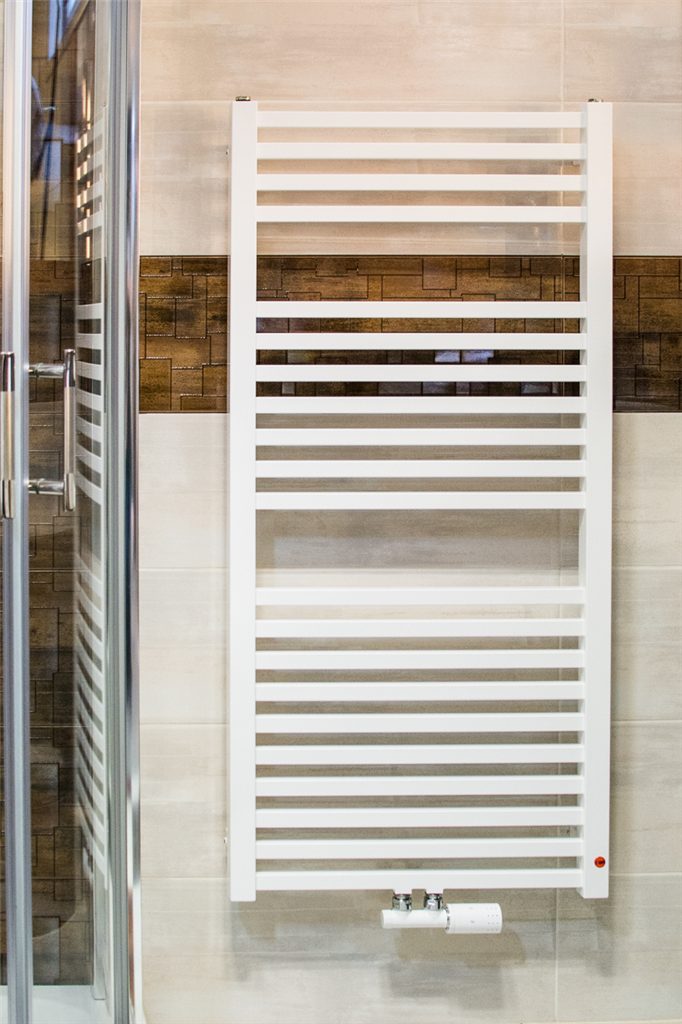 ISAN Koupelnový radiátor QUADRAT bílý (RAL9016) 1755/600 SP DQUA17550600SM01