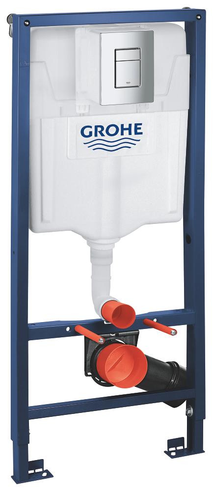 AKCE/SET/GROHE - GROHE -Rapid SL Rapid SL pro závěsné WC 38528SET + WC CERSANIT CITY CLEAN ON + SEDÁTKO (38772001 CI1), fotografie 2/9