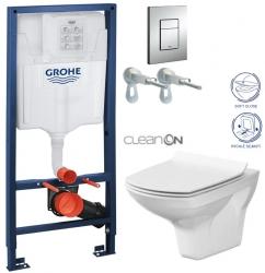 AKCE/SET/GROHE - Rapid SL Rapid SL pro závěsné WC 38528SET + WC CERSANIT CARINA CLEAN ON + SEDÁTKO (38772001 CA3)