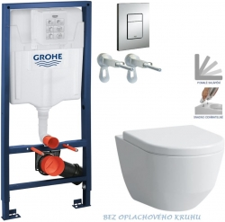 AKCE/SET/GROHE - Rapid SL Rapid SL pro závěsné WC 38528SET + WC LAUFEN PRO RIMLESS + SEDÁTKO (38772001 LP1)