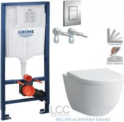 AKCE/SET/GROHE - Rapid SL Rapid SL pro závěsné WC 38528SET + WC LAUFEN PRO LCC RIMLESS + SEDÁTKO  (38772001 LP2)