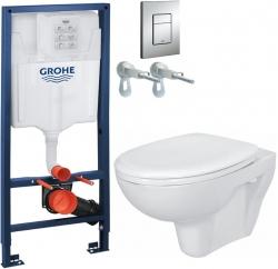 AKCE/SET/GROHE - Rapid SL Rapid SL pro závěsné WC 38528SET + WC CERSANIT PRESIDENT + SEDÁTKO (38772001 PR1)