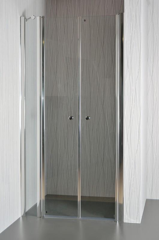 ARTTEC SALOON C9 Sprchové dveře do niky grape 101 106 x 195 cm XSAL0044