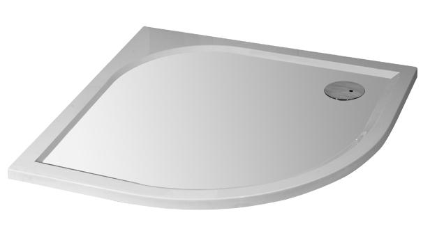 ARTTEC STONE 88,5 x 88,5 cm čtvrtkruh pravý odpad 90 mm PAN00982