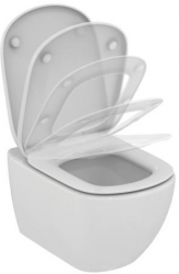 AKCE/SET/GEBERIT - Duofix Sada pro závěsné WC 458.103.00.1 + tlačítko DELTA50 bílé + WC TESI se sedátkem SoftClose, AquaBlade (458.103.00.1 50BI TE1), fotografie 10/7