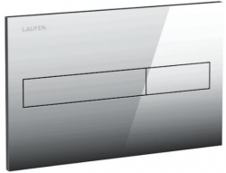 AKCE/SET/LAUFEN - Rámový podomítkový modul CW1  SET + ovládací tlačítko CHROM + WC TESI se sedátkem SoftClose, AquaBlade (H8946600000001CR TE1), fotografie 12/7