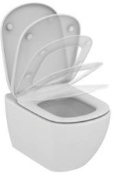 AKCE/SET/VIEGA - Eko PLUS modul do jádra WC čelní ovládání  SET + ovládací tlačítko CHROM + WC TESI se sedátkem SoftClose, AquaBlade (V622176CR TE1), fotografie 2/8