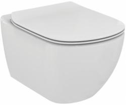 AKCE/SET/VIEGA - Eko PLUS modul do jádra WC čelní ovládání  SET + ovládací tlačítko CHROM + WC TESI se sedátkem SoftClose, AquaBlade (V622176CR TE1), fotografie 6/8