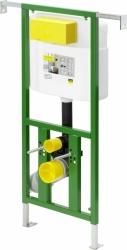 AKCE/SET/VIEGA - Eko PLUS modul do jádra WC čelní ovládání  SET + ovládací tlačítko CHROM + WC TESI se sedátkem SoftClose, AquaBlade (V622176CR TE1), fotografie 12/8