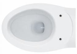 AKCE/SET/LAUFEN - Rámový podomítkový modul CW1  SET BÍLÁ + ovládací tlačítko BÍLÉ + WC ARES + SEDÁTKO (H8946600000001BI AR1), fotografie 6/8