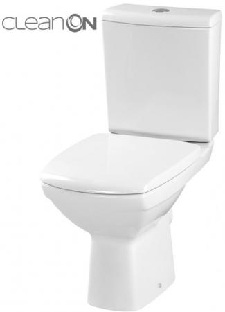 WC KOMBI 482 CARINA NEW CLEAN ON 010  3/5l + sedátko duraplast soft close (K31-044) - CERSANIT