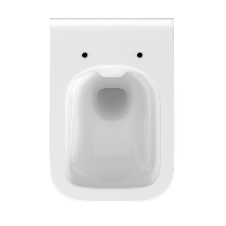 AKCE/SET/GEBERIT - KOMBIFIXBasic včetně ovládacího tlačítka DELTA 21 Bílé pro závěsné WC CERSANIT CLEANON CREA ČTVEREC + SEDÁTKO (110.100.00.1 21BI CR2), fotografie 14/11