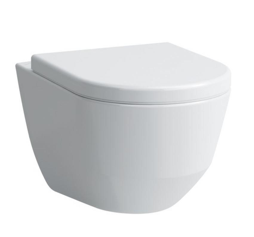 GEBERIT KOMBIFIXBasic vč. bílého tlačítka DELTA 21 + WC LAUFEN PRO + SEDÁTKO (110.100.00.1 21BI LP3)