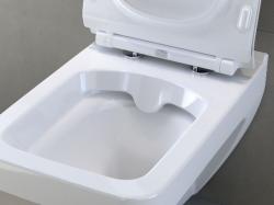 AKCE/SET/GEBERIT - KOMBIFIXBasic včetně ovládacího tlačítka DELTA 21 Bílé pro závěsné WC CERSANIT CLEANON SPLENDOUR + SEDÁTKO (110.100.00.1 21BI SP1), fotografie 18/11