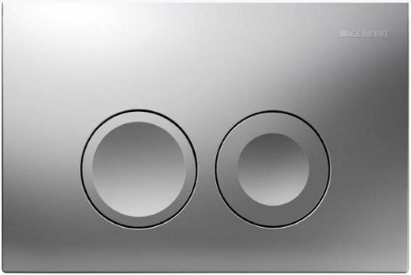AKCE/SET/GEBERIT - GEBERIT - KOMBIFIXBasic včetně ovládacího tlačítka DELTA 21 MAT pro závěsné WC CERSANIT CLEANON COLOUR + SEDÁTKO (110.100.00.1 21MA CN1), fotografie 22/11