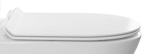 ND PACO náhradní WC sedátko k WC kombi slim PC1012, duroplast PC1012R-01X
