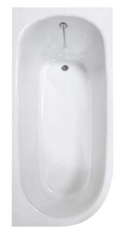 STONE LONG volně stojící vana z litého mramoru 168x75 cm (9910000) - Roltechnik
