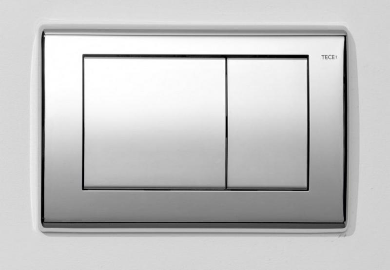 TECE - PLANUS ovládací tlačítko dvojčinné 9240321 - chrom lesk (K5004594)