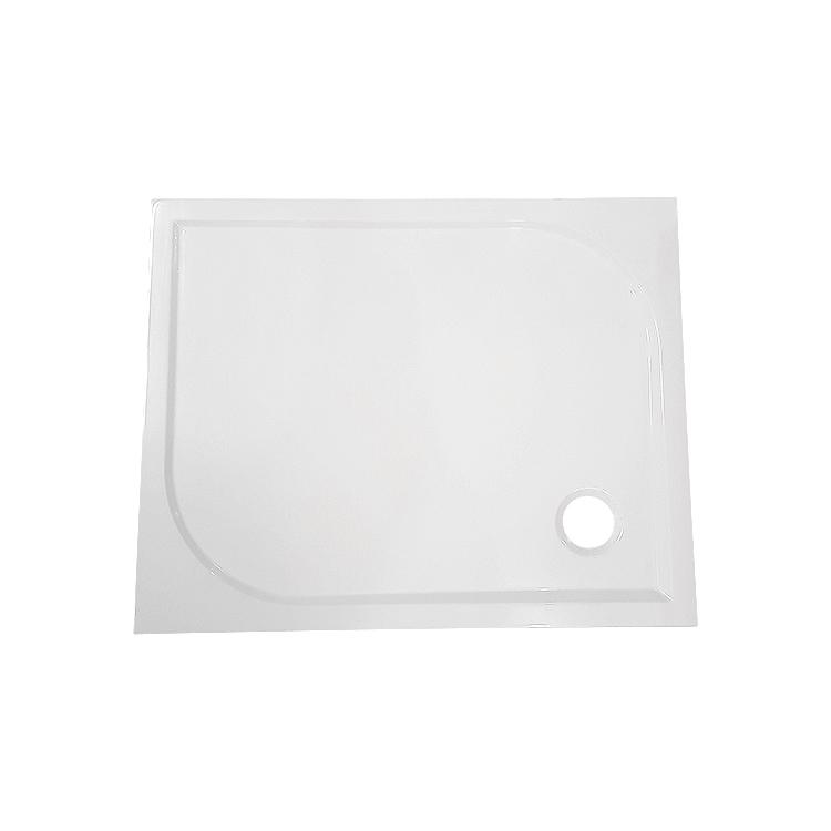 AKCE /SET/SanSwiss - Sprchová vanička PRIM obdélník 800x1200 bílá BEZ NOH-8 Marblemate (PRIM80120), fotografie 8/5