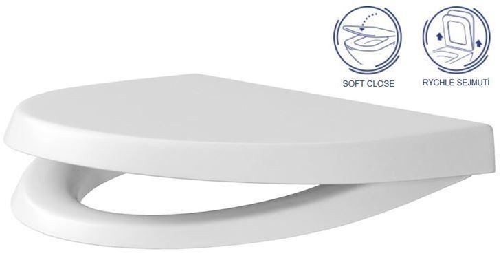 AKCE/SET/ALCAPLAST - Renovmodul - předstěnový instalační systém + WC CERSANIT CLEANON PARVA + SEDÁTKO (AM115/1000 X PA1), fotografie 10/7