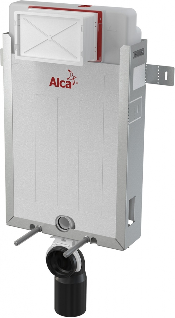 AKCE/SET/ALCAPLAST - Renovmodul - předstěnový instalační systém + tlačítko M1710 + WC LAUFEN PRO RIMLESS + SEDÁTKO (AM115/1000 M1710 LP1), fotografie 6/9