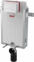 ALCAPLAST  Renovmodul - předstěnový instalační systém s chromovým tlačítkem M1721 + WC CERSANIT ZEN CLEANON + SEDÁTKO (AM115/1000 M1721 HA1), fotografie 4/10