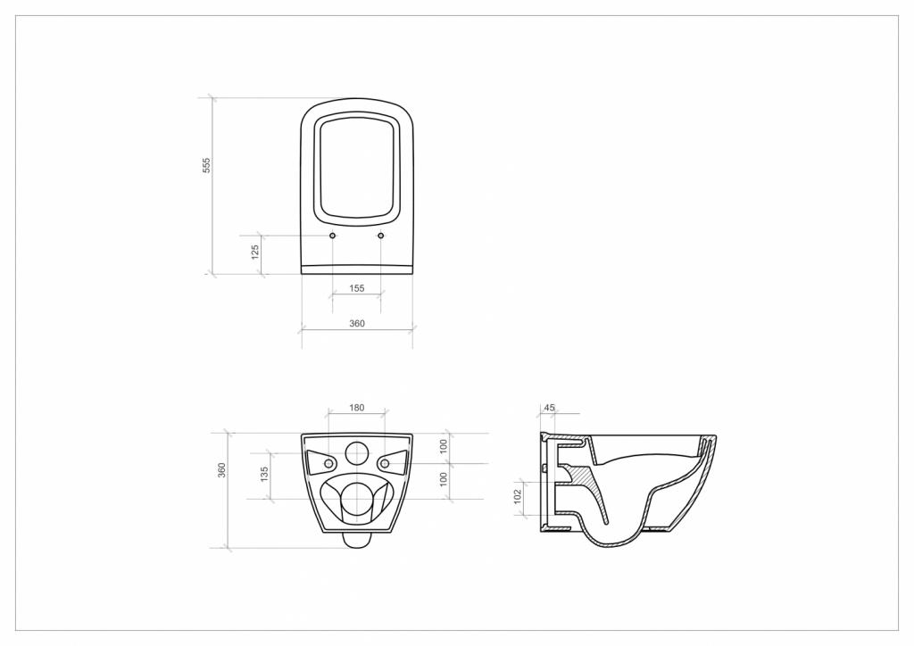 AKCE/SET/ALCAPLAST - Sádromodul - předstěnový instalační systém + tlačítko M1710 + WC CERSANIT CLEANON METROPOLITAN + SEDÁTKO (AM101/1120 M1710 ME1), fotografie 10/9