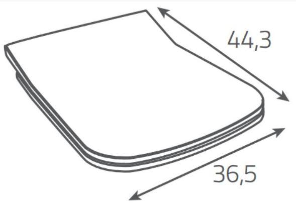 AKCE/SET/ALCAPLAST - Sádromodul - předstěnový instalační systém + tlačítko M1710 + WC CERSANIT CLEANON METROPOLITAN + SEDÁTKO (AM101/1120 M1710 ME1), fotografie 18/9