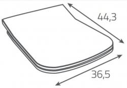 AKCE/SET/ALCAPLAST - SET Sádromodul - předstěnový instalační systém + tlačítko M1720-1 + WC OPOCZNO CLEANON METROPOLITAN + SEDÁTKO (AM101/1120 M1720-1 ME1), fotografie 18/10