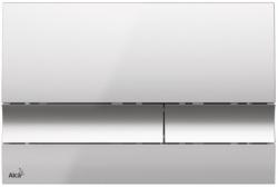 ALCAPLAST  Sádromodul - předstěnový instalační systém s chromovým tlačítkem M1721 + WC CERSANIT ZEN CLEANON + SEDÁTKO (AM101/1120 M1721 HA1), fotografie 20/10