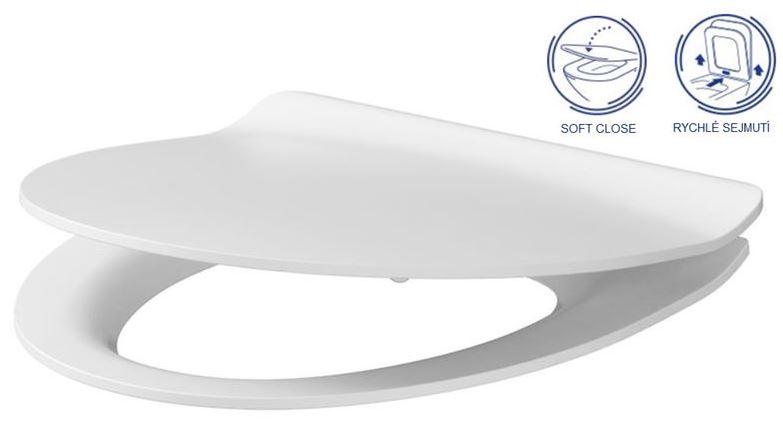 AKCE/SET/ALCAPLAST - Sádromodul - předstěnový instalační systém + tlačítko M1721 + WC CERSANIT CLEANON PARVA + SEDÁTKO (AM101/1120 M1721 PA2), fotografie 12/8