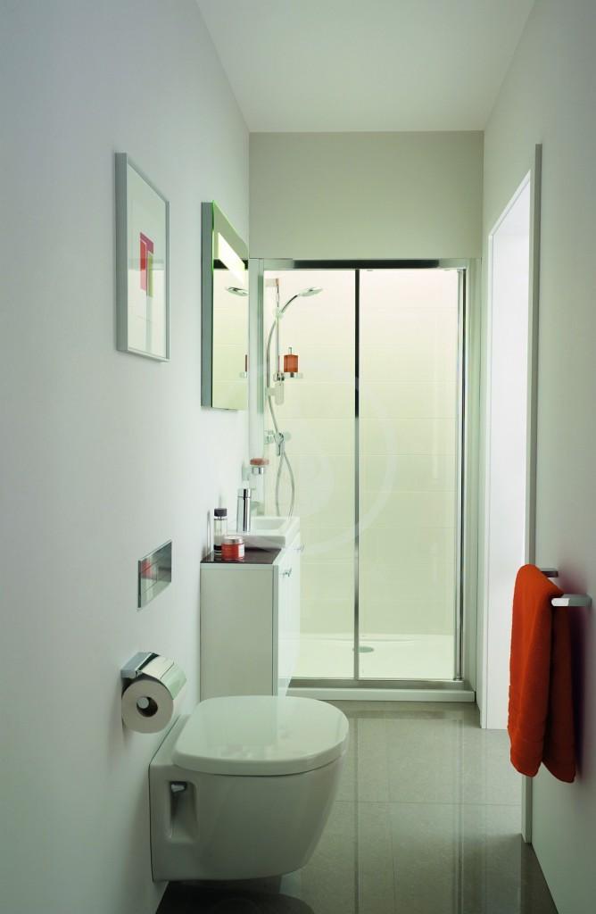 VÝPRODEJ - Strada Zrcadlo s osvětlením 600 mm (26 Watt zářivka T5), neutrální (K2476BHVYP), fotografie 16/8